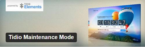 Tidio-maintenance-mode