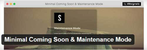 minimal-coming-soon-maintenance-mode
